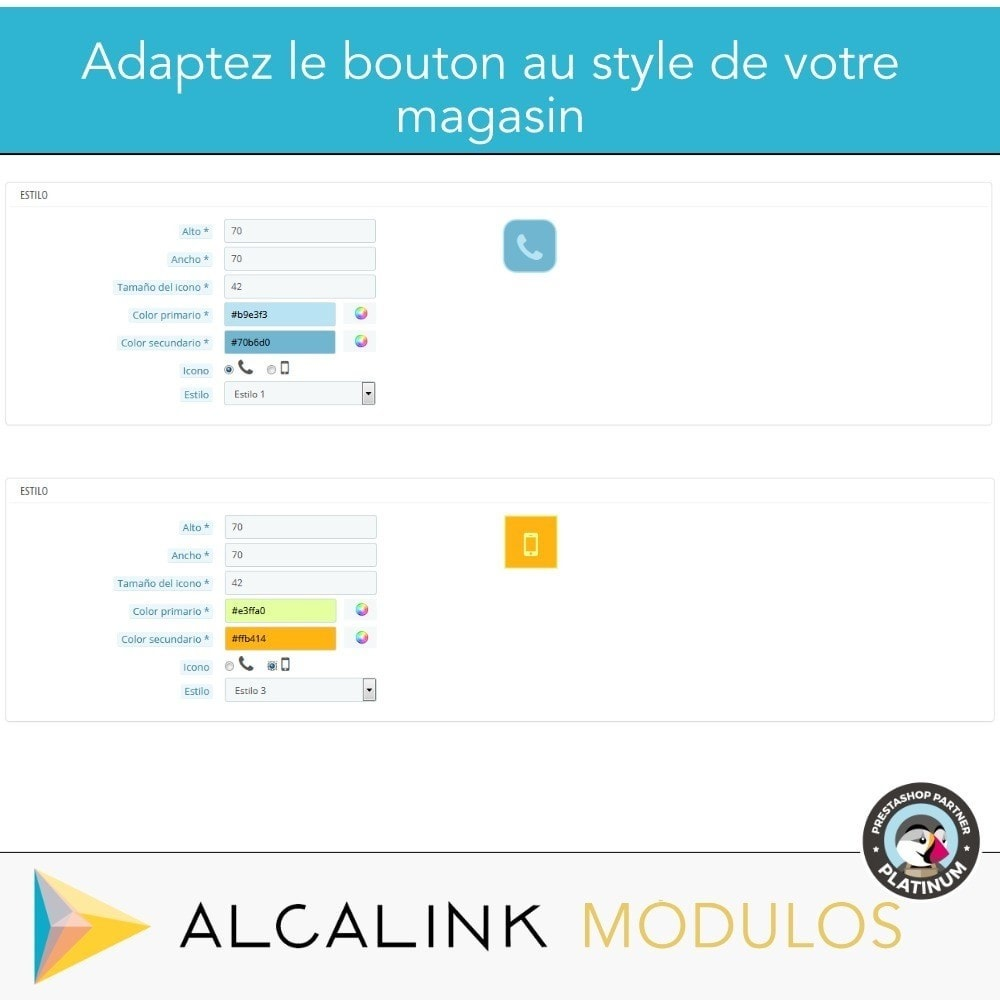 module - Mobile - Bouton d'Appel (version mobile) - 4
