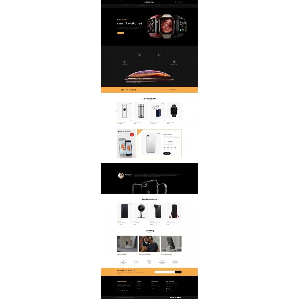 theme - Electronique & High Tech - Mobimax - Online Mobile Store - 2