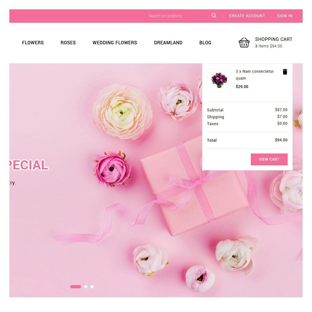 theme - Gifts, Flowers & Celebrations - Blossom Flowers & Gifts Shop - 7