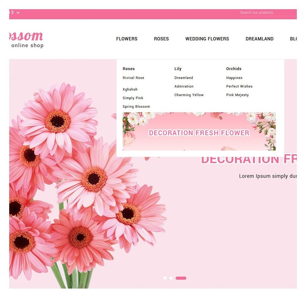 theme - Gifts, Flowers & Celebrations - Blossom Flowers & Gifts Shop - 8