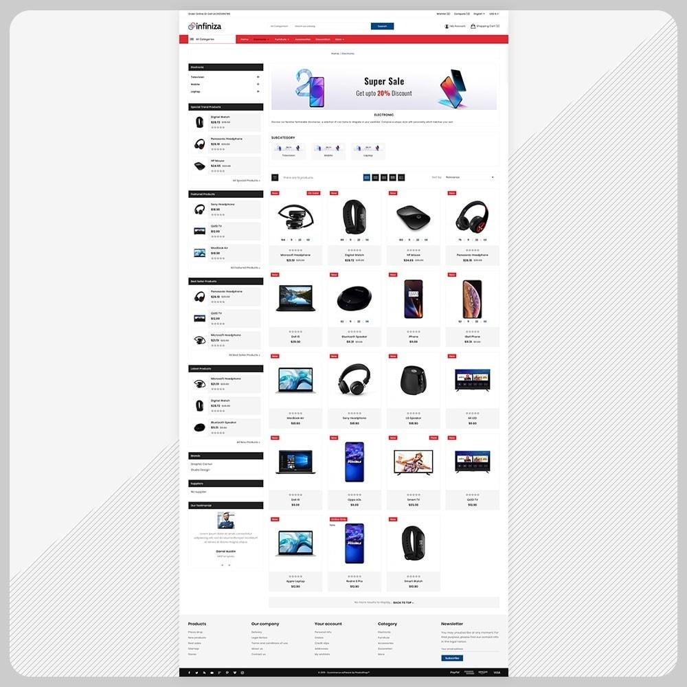 theme - Electronics & Computers - Infiniza– Electronic Big Mall - 3