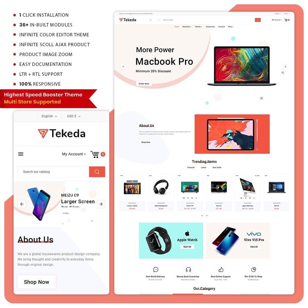 theme - Electronics & Computers - Tekeda– Electronic Big Mall - 1