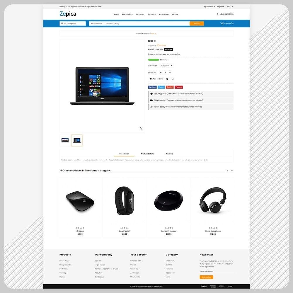 theme - Electronics & Computers - Zepica– Electronic Mega Store - 4