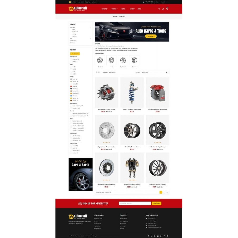 theme - Automotive & Cars - Auto Crafts & Parts - 3