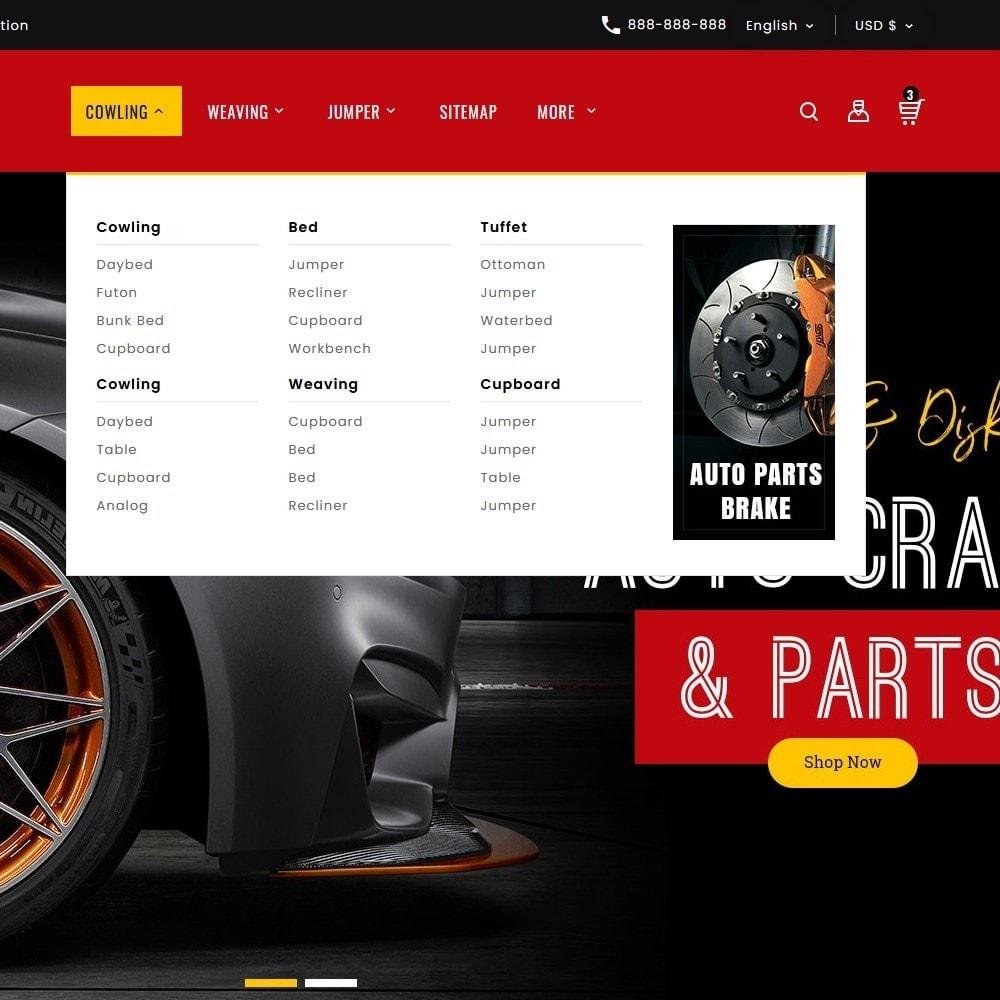 theme - Automotive & Cars - Auto Crafts & Parts - 9