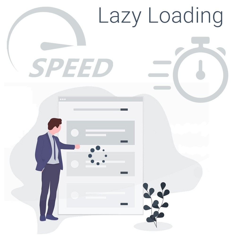 module - Website performantie - Lazy Load Images - Page Speed Optimization - 1