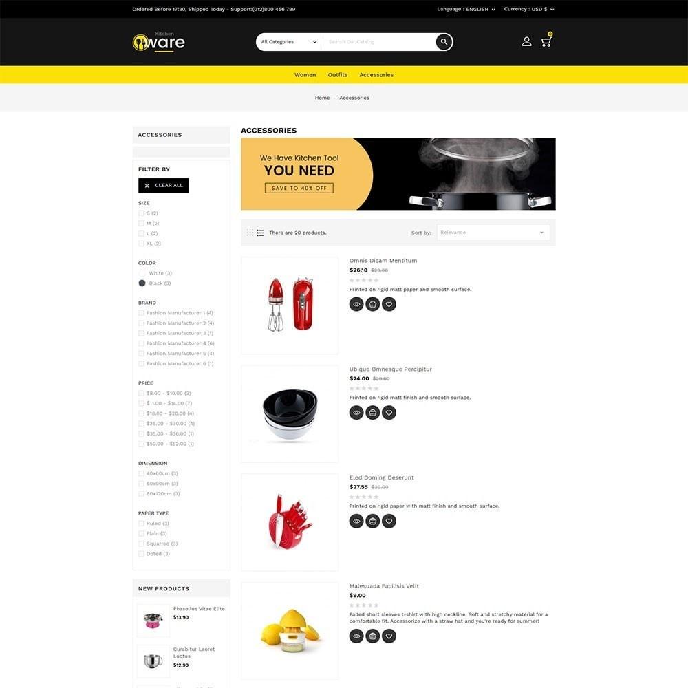 theme - Dom & Ogród - Kitchenware Online Store - 4
