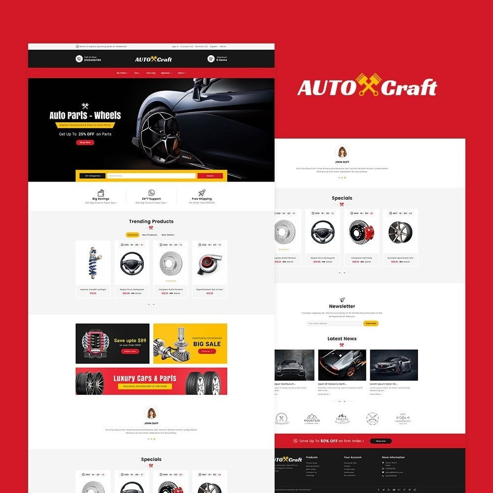 theme - Samochody - Auto Crafts & Parts - 2