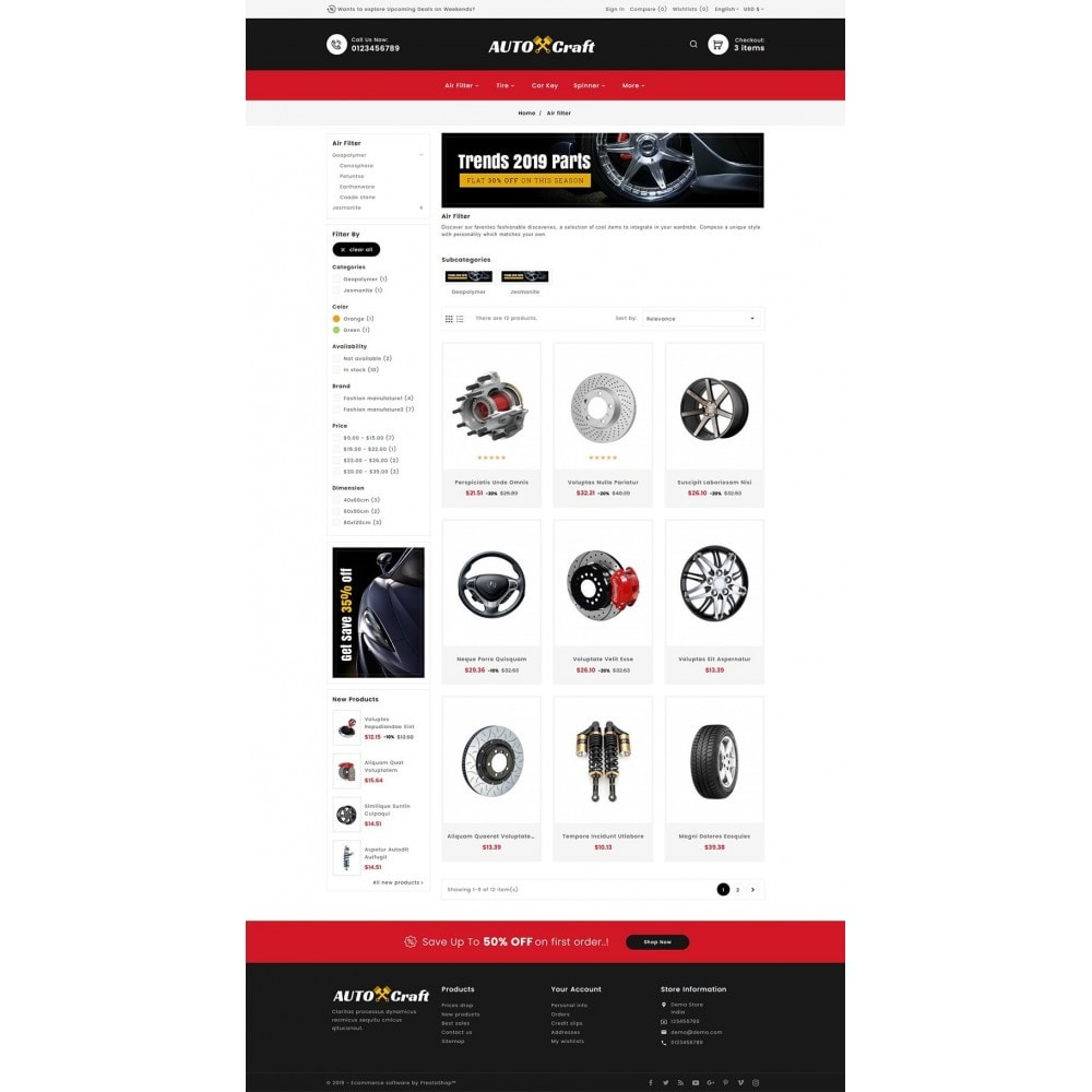 theme - Coches y Motos - Auto Crafts & Parts - 3