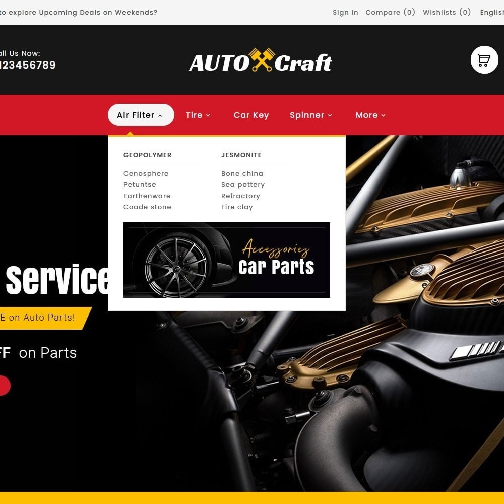 theme - Auto & Moto - Auto Crafts & Parts - 9