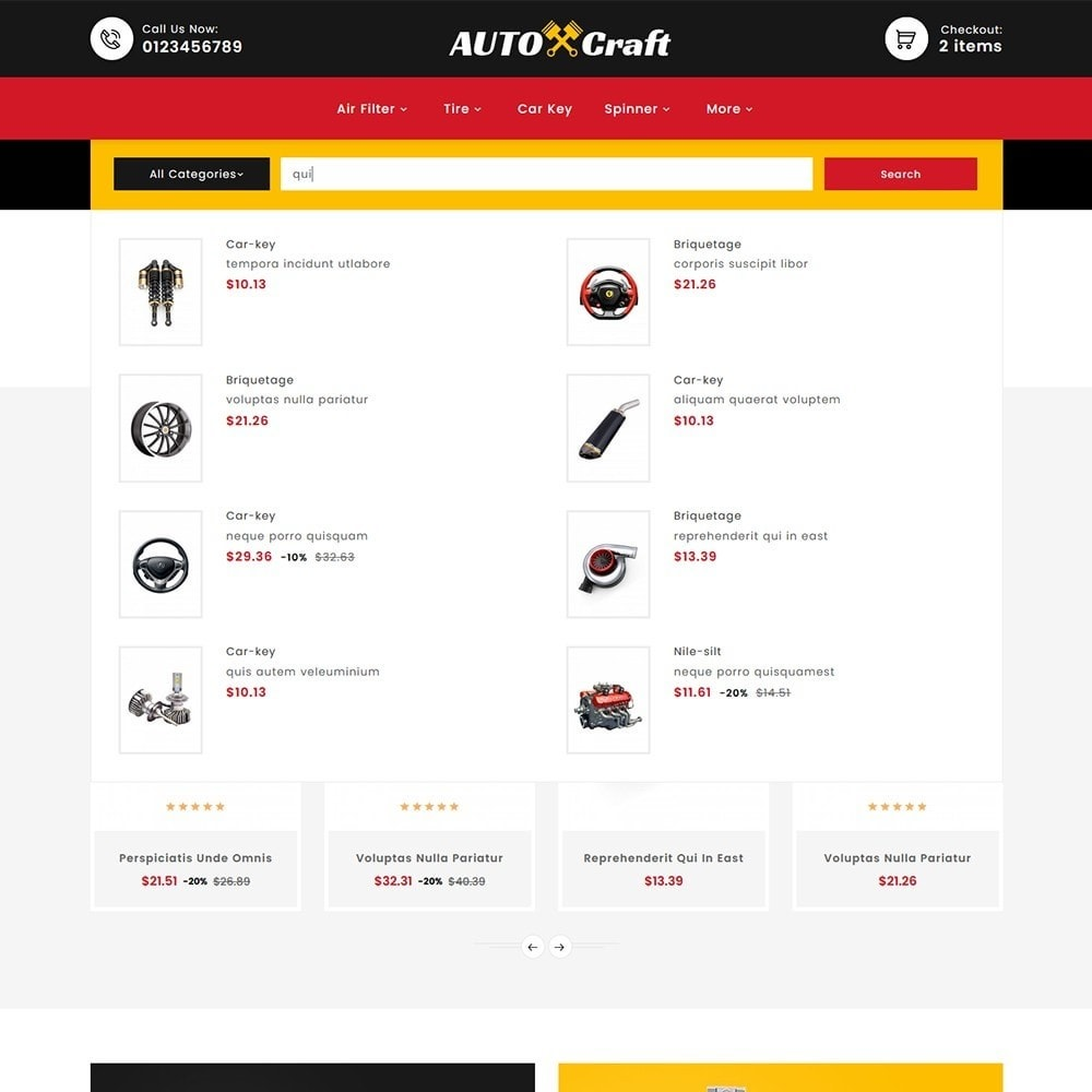 theme - Auto & Moto - Auto Crafts & Parts - 10