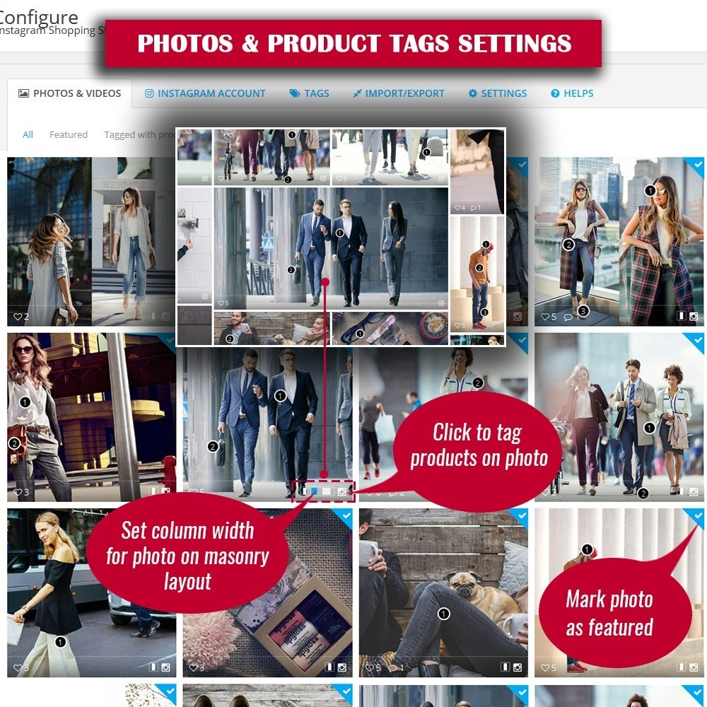 module - Gallerijen & Sliders - INS Shopping Slider - 12