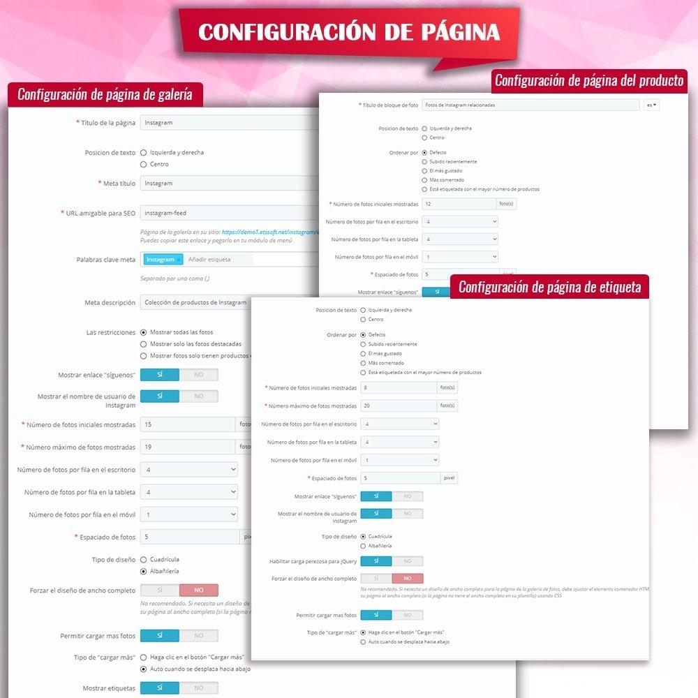 module - Sliders y Galerías de imágenes - INS Shopping Slider - Integración de redes sociale - 16