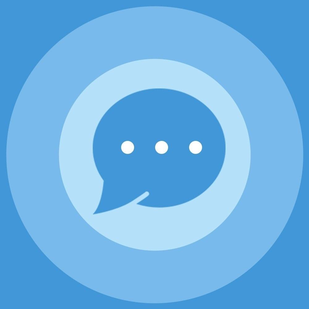module - Asistencia & Chat online - Social Messenger, soporte de Live Chat - 1