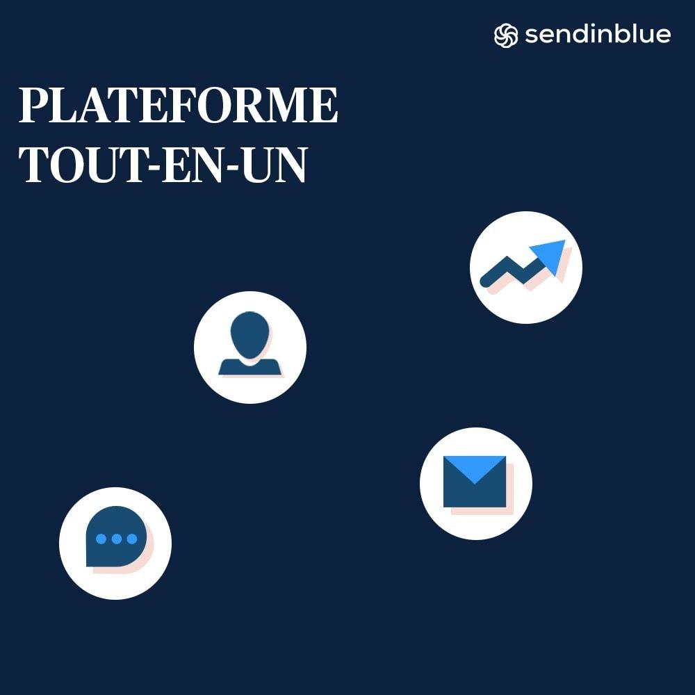 module - Newsletter & SMS - Sendinblue - L'outil marketing tout en un - 2