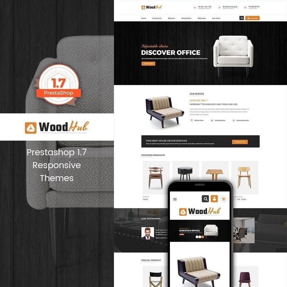 theme - Дом и сад - Wood Furniture - Магазин Дизайнер интерьера - 5