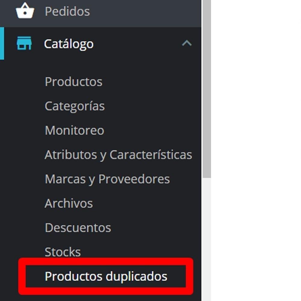 module - Edición Rápida y Masiva - De productos duplicados - 1
