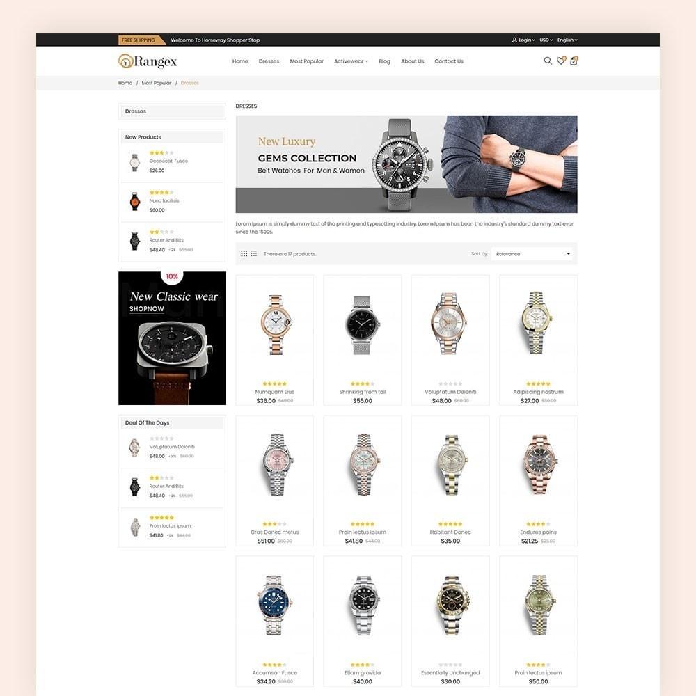 theme - Moda & Calçados - Rangex Watch Store - 5