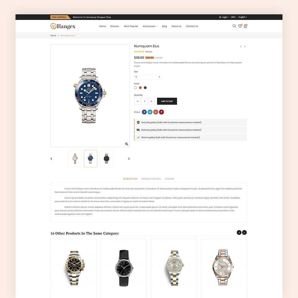 theme - Moda & Calçados - Rangex Watch Store - 7