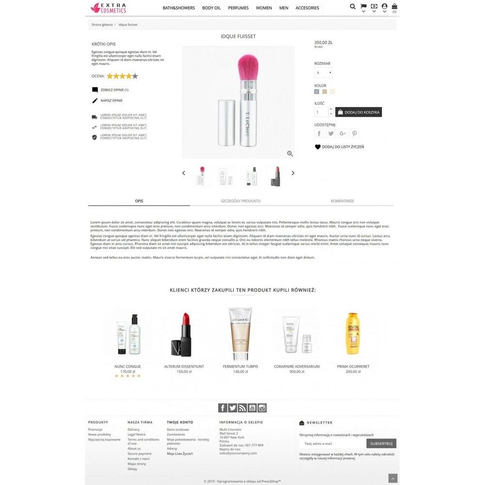 theme - Santé & Beauté - Extra Cosmetics - 3