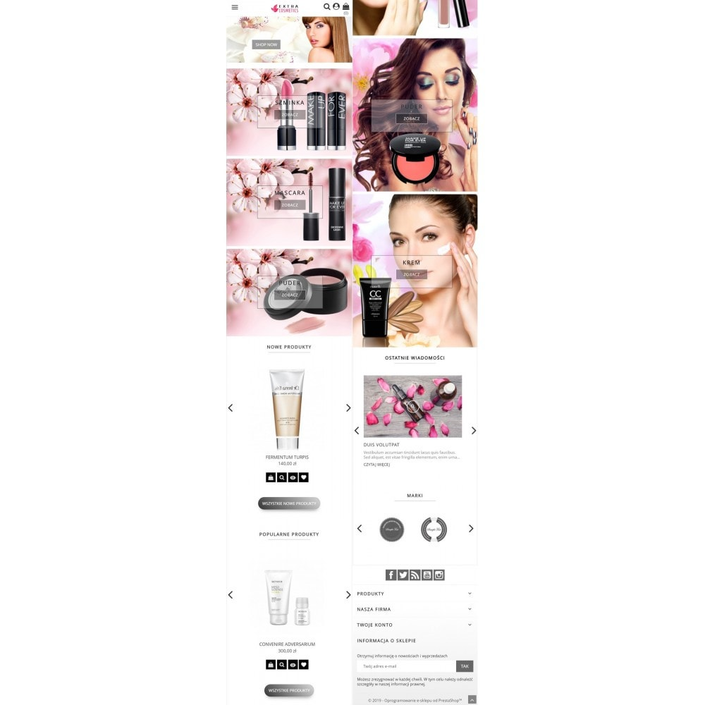 theme - Zdrowie & Uroda - Extra Cosmetics - 6