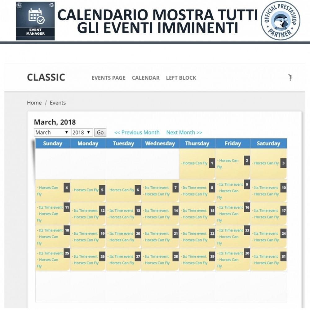 module - Prenotazioni & Noleggi - Manager degli Eventi, Crea Eventi & Vendi biglietti - 8