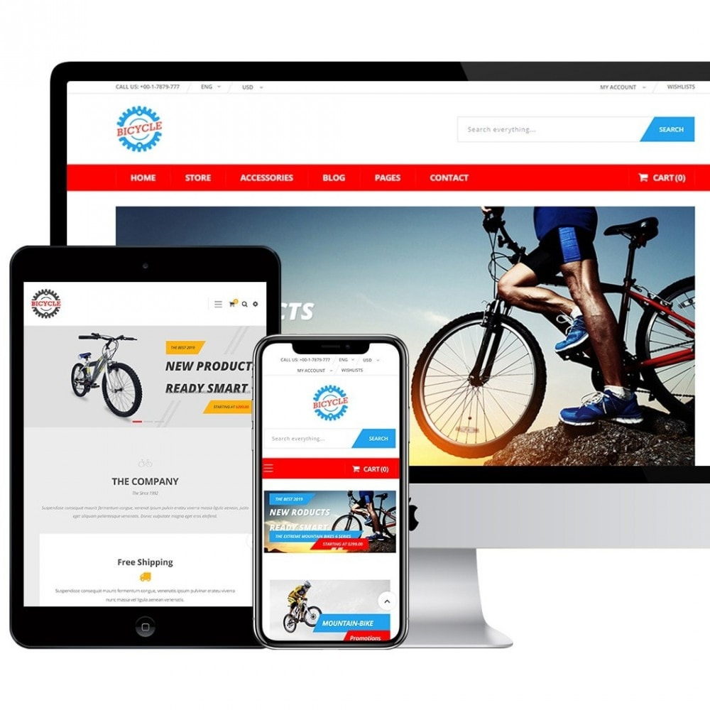 theme - Sports, Activities & Travel - Bicycle Store - 3