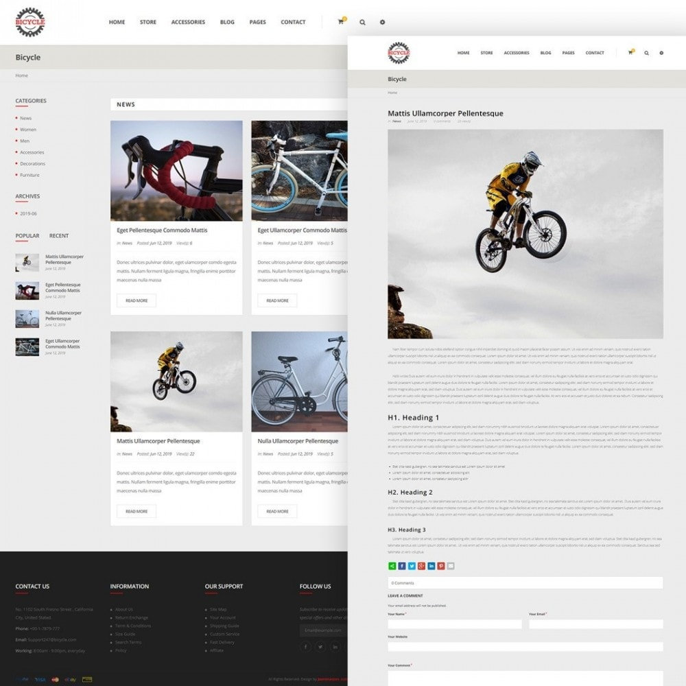 theme - Sports, Activities & Travel - Bicycle Store - 5