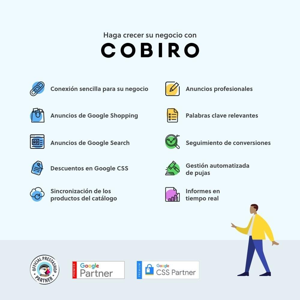module - SEM SEA - Posicionamiento patrocinado & Afiliación - Cobiro - Marketing automatizado en Google - 1