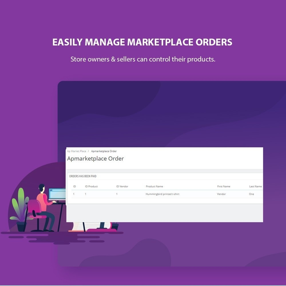 module - Marketplaces - Ap Marketplace Multivendor Marketplace Module - 9