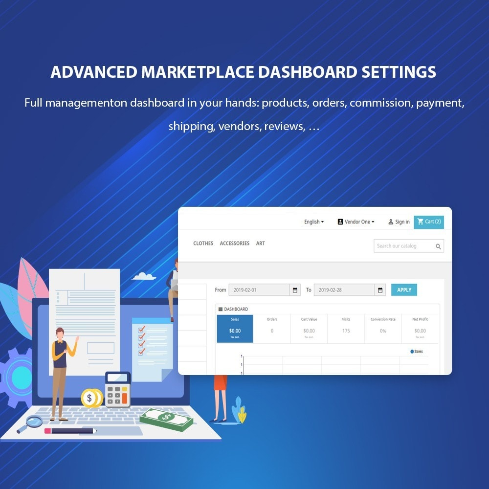 module - Marketplaces - Ap Marketplace Multivendor Marketplace Module - 13