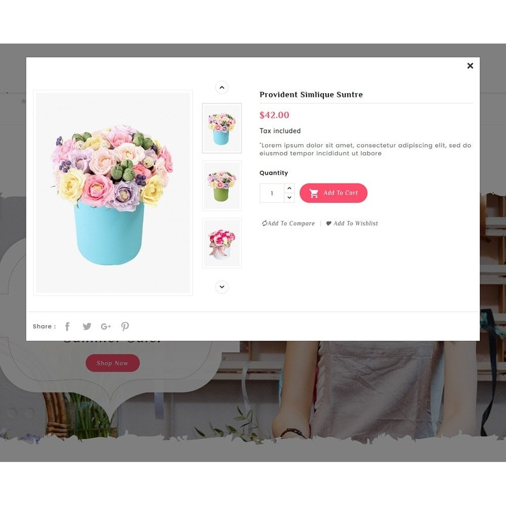 theme - Подарки, Цветы и праздничные товары - Flowering - Blooming Art - 8