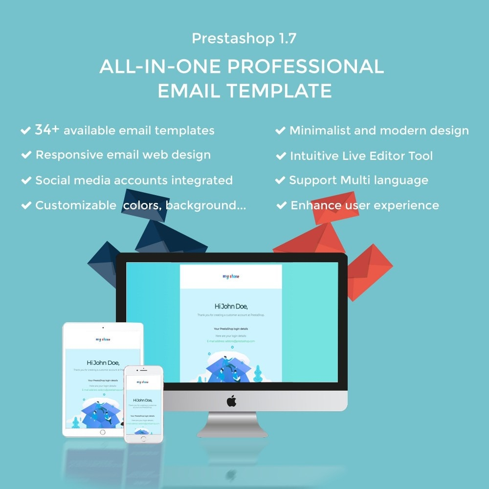 email - Email templates PrestaShop - Ap Email Dove - 1