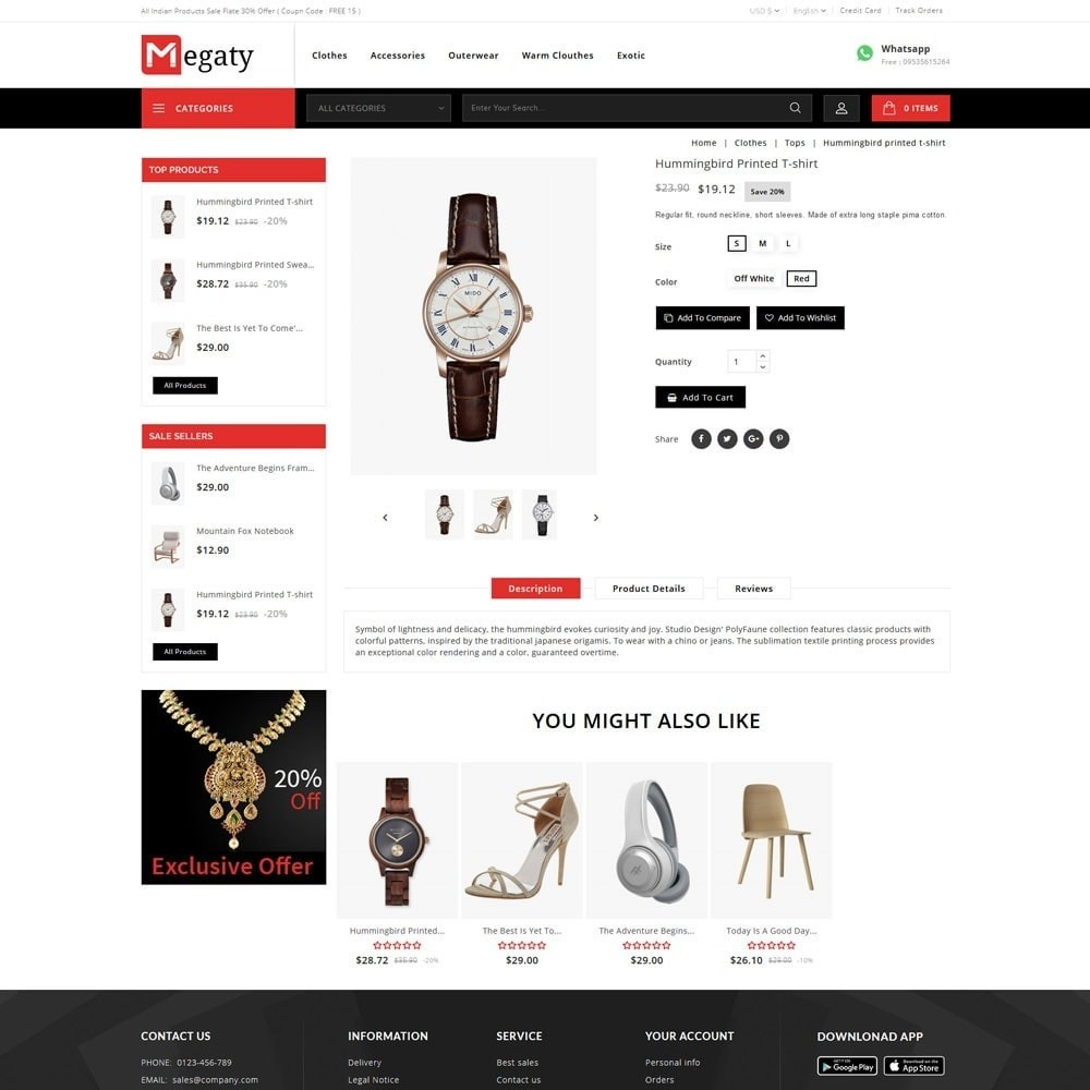 theme - Fashion & Shoes - Megaty - The Mega Shop - 6