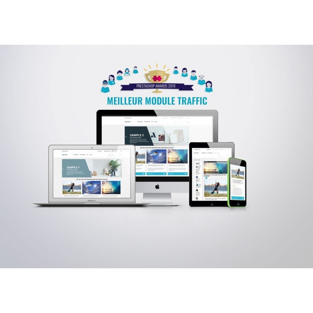 module - Blog, Forum & Actualités - Prestablog : un blog professionnel pour votre boutique - 1