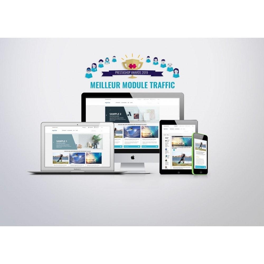module - Blog, Forum & Actualités - Blog professionnel - 1