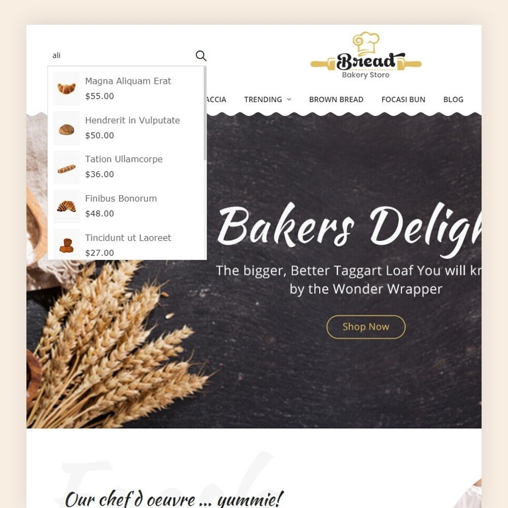 theme - Alimentation & Restauration - Bread bakery Store - 4