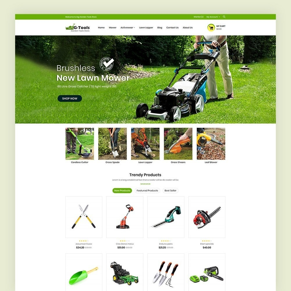 theme - Dom & Ogród - Gtools Garden Tools Store - 2