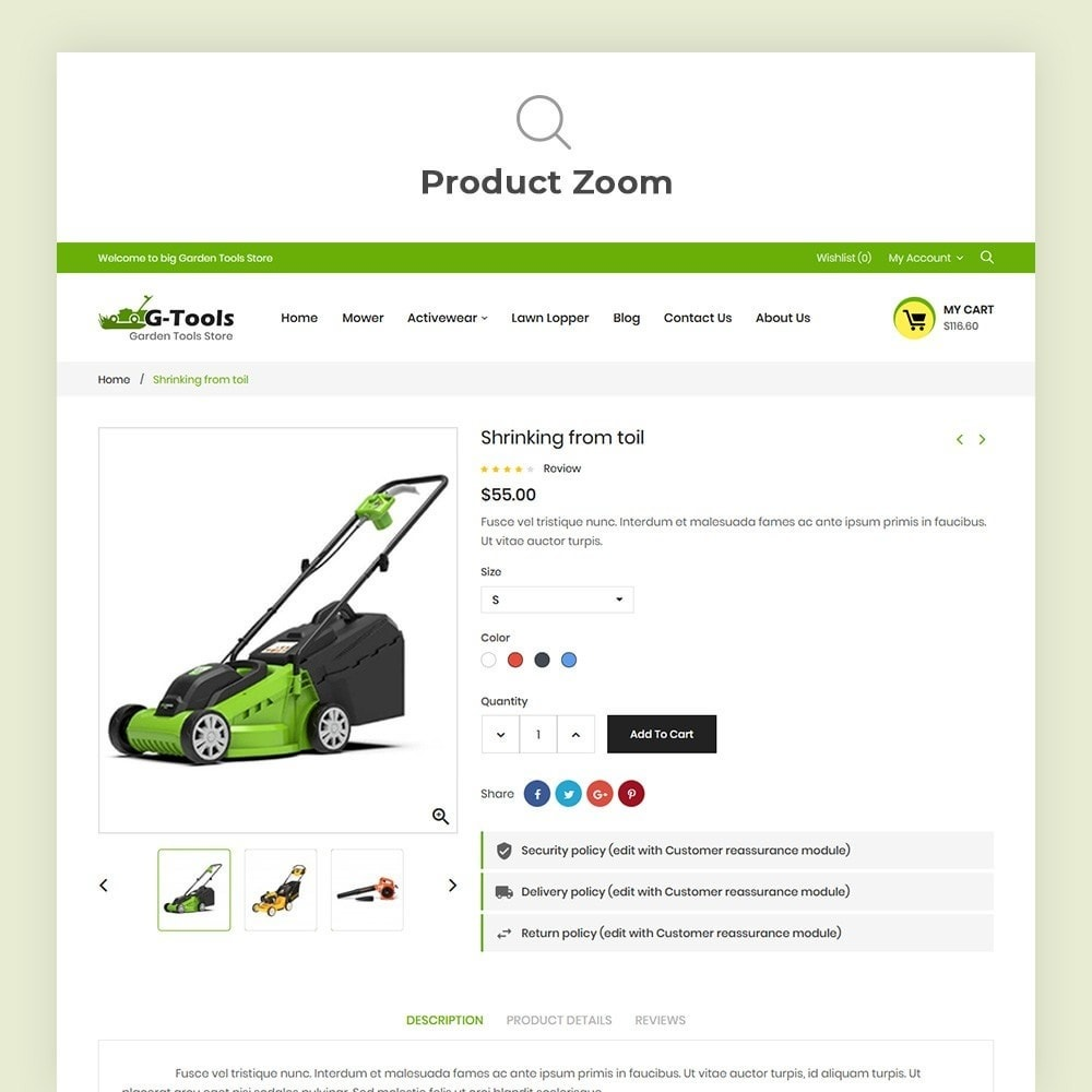 theme - Dom & Ogród - Gtools Garden Tools Store - 8