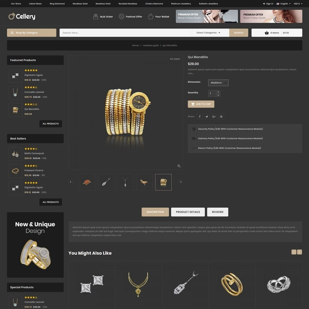 theme - Jewelry & Accessories - Cellery - The Mega Jewellery Store - 7