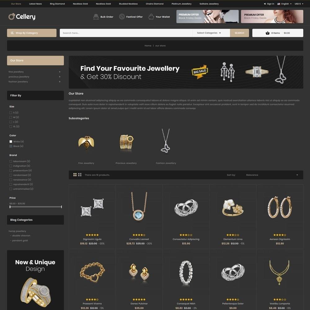 theme - Bijoux & Accessoires - Cellery - La Mega Bijouterie - 6