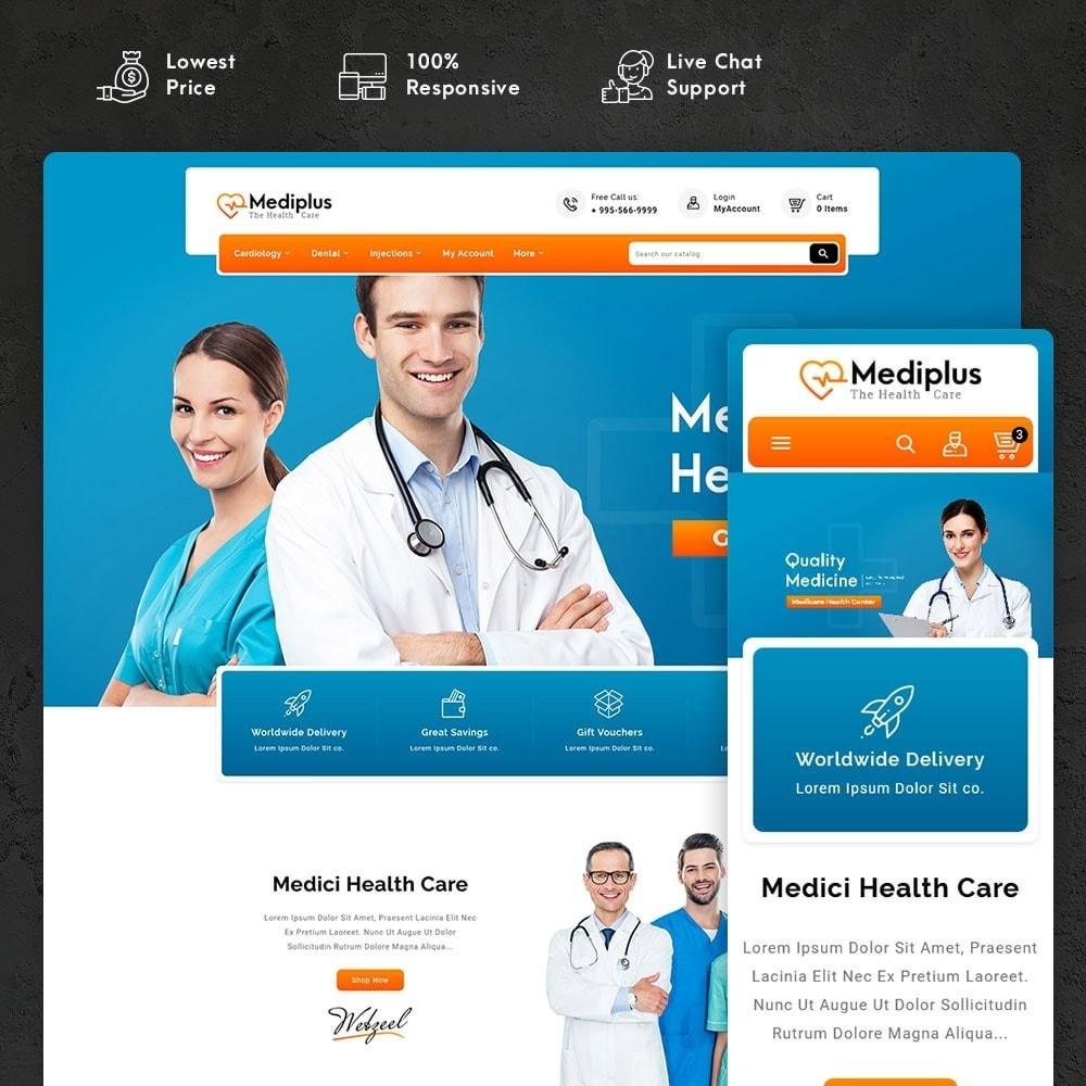 theme - Santé & Beauté - Medi Plus - Drugs & Medicine - 1