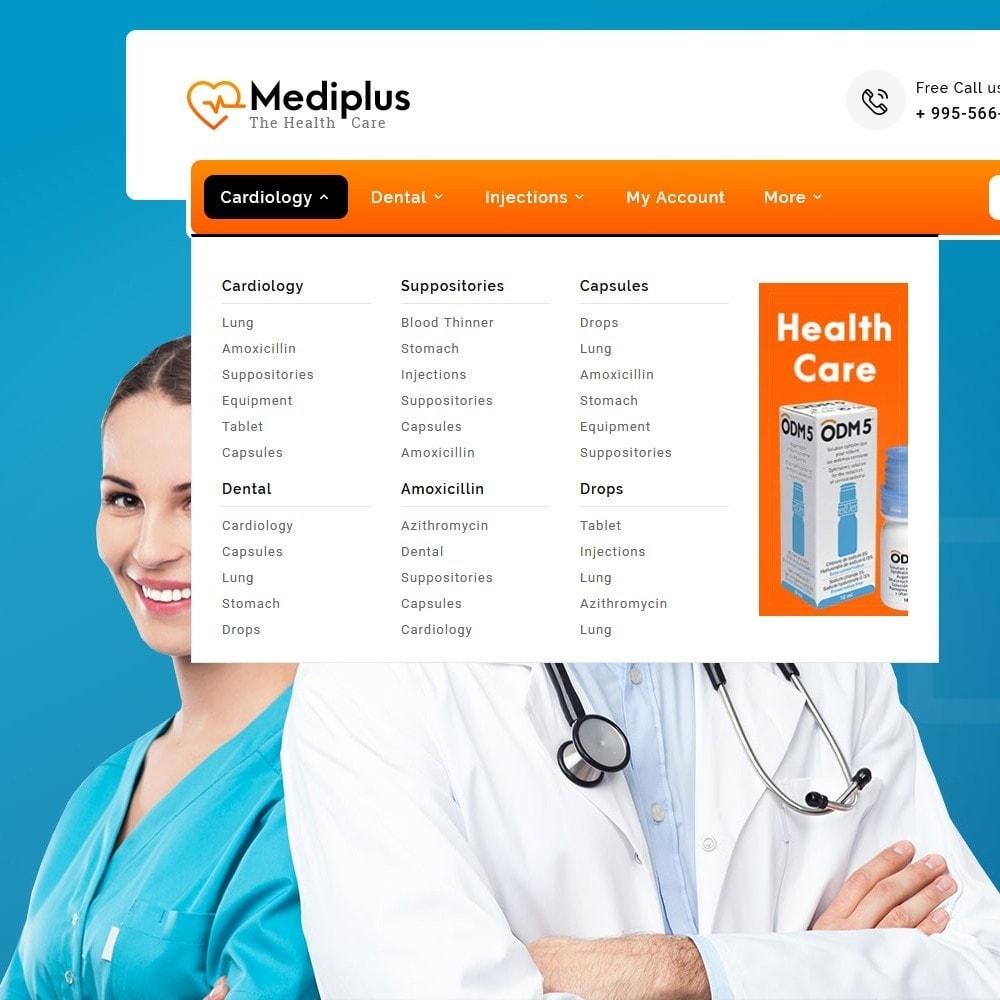 theme - Santé & Beauté - Medi Plus - Drugs & Medicine - 9