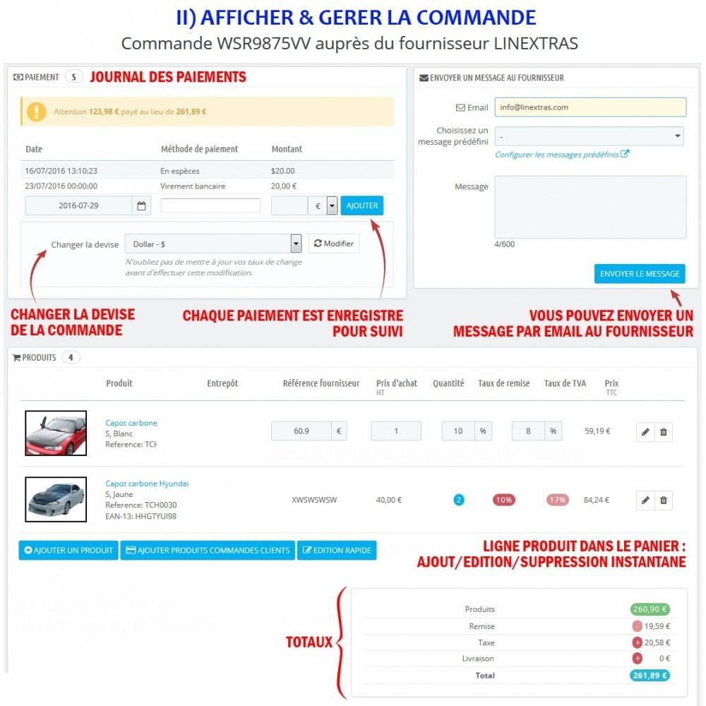module - Gestion des Commandes - Wk Gestion Commandes Fournisseurs - 7