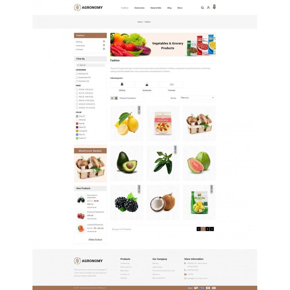 theme - Alimentation & Restauration - Agronomy - Organic Store - 3