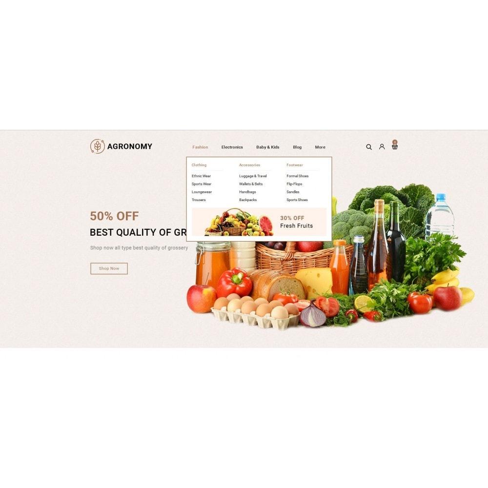theme - Alimentation & Restauration - Agronomy - Organic Store - 6