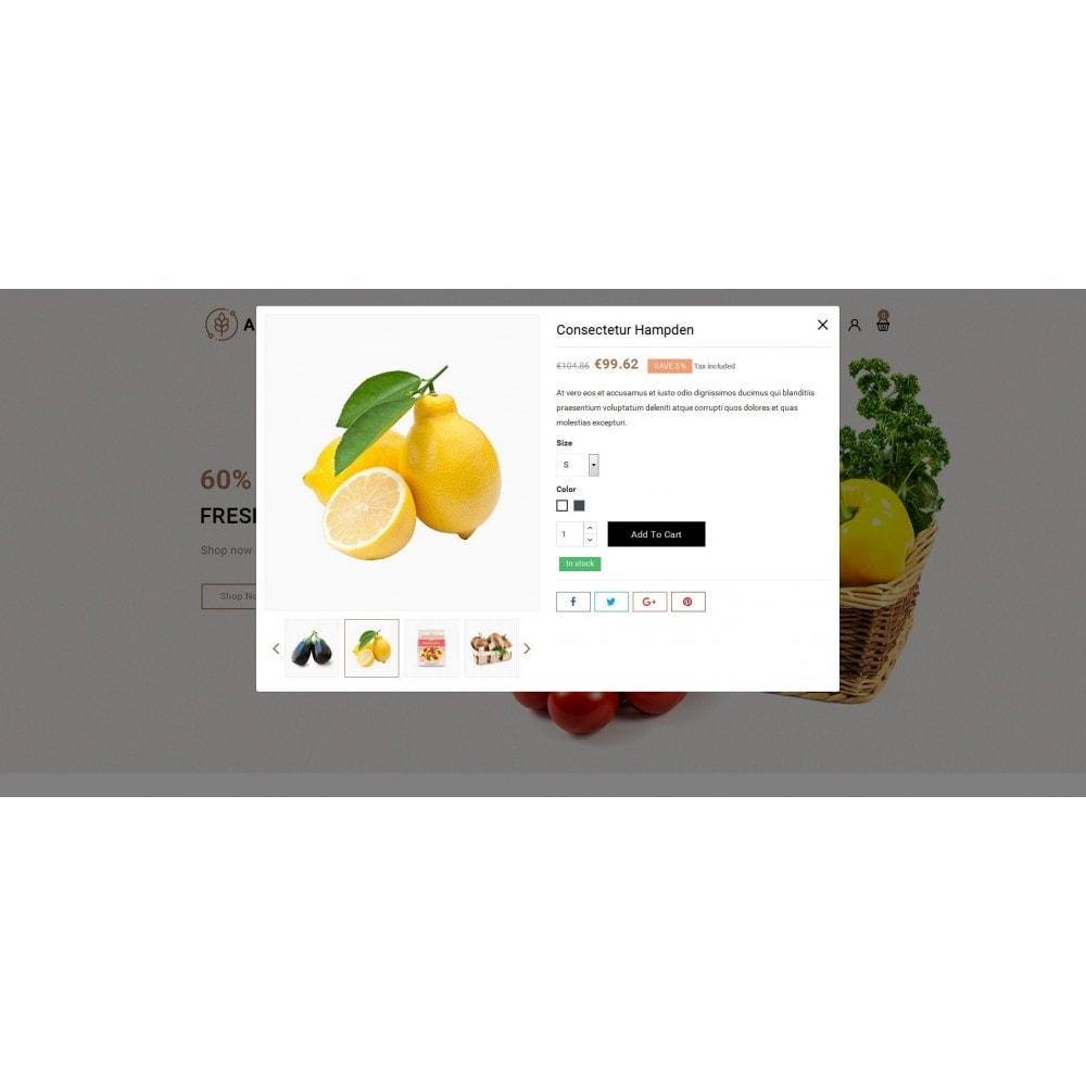theme - Food & Restaurant - Agronomy - Organic Store - 7
