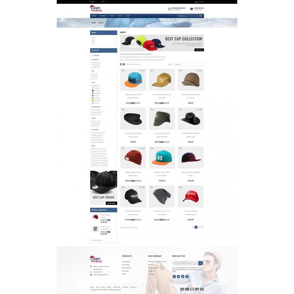 theme - Moda & Calzature - Caps Store - 3