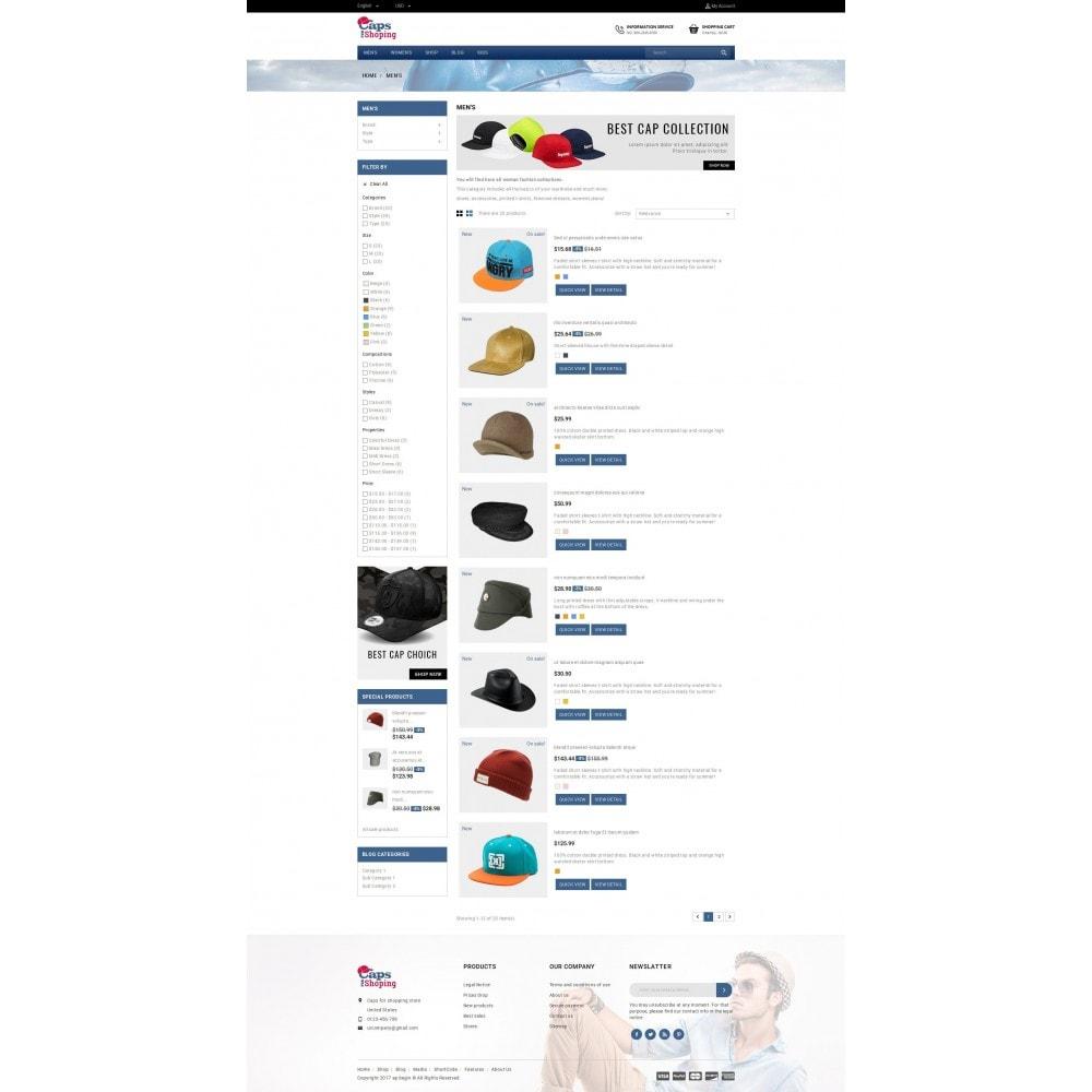 theme - Mode & Schuhe - Caps Store - 4