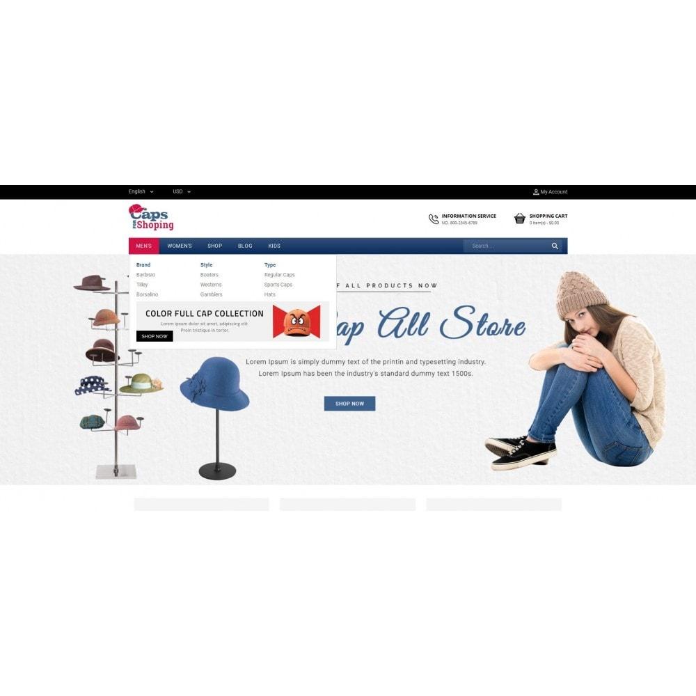 theme - Moda & Calzature - Caps Store - 6
